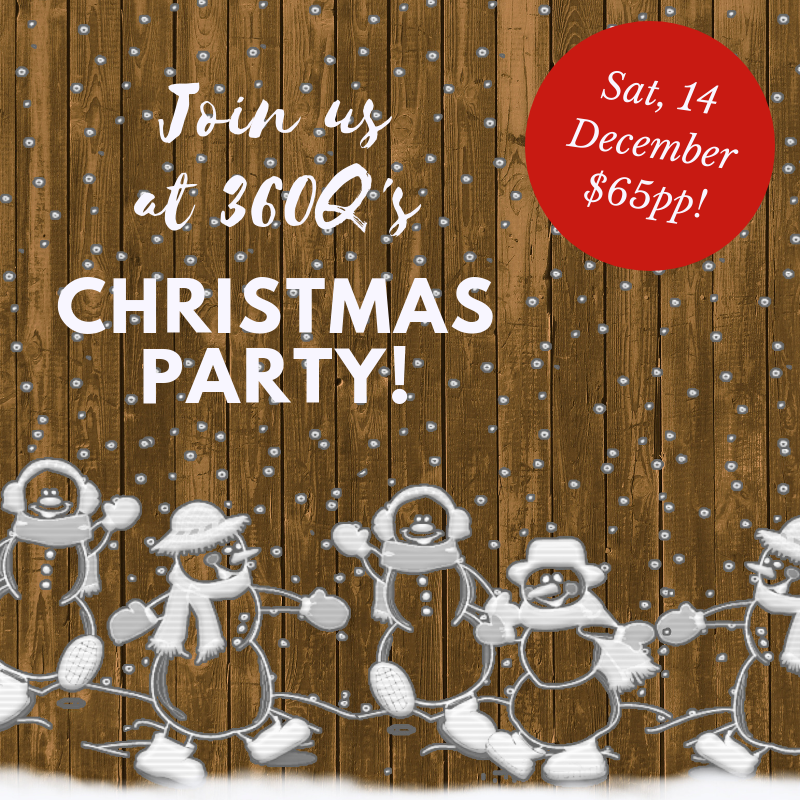 Christmas party 360Q queenslciff small business community december 14