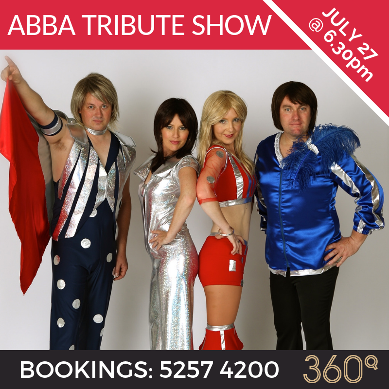 abba tribute show 360q queenscliff bjorn to be wild