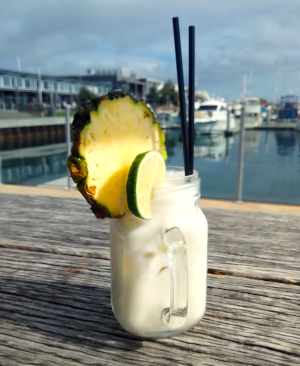 PINA COLADA DAVE'S DRINK OF THE MONTH 360Q QUEENSCLIFF COCTAIL SUNDAY SIPPERS
