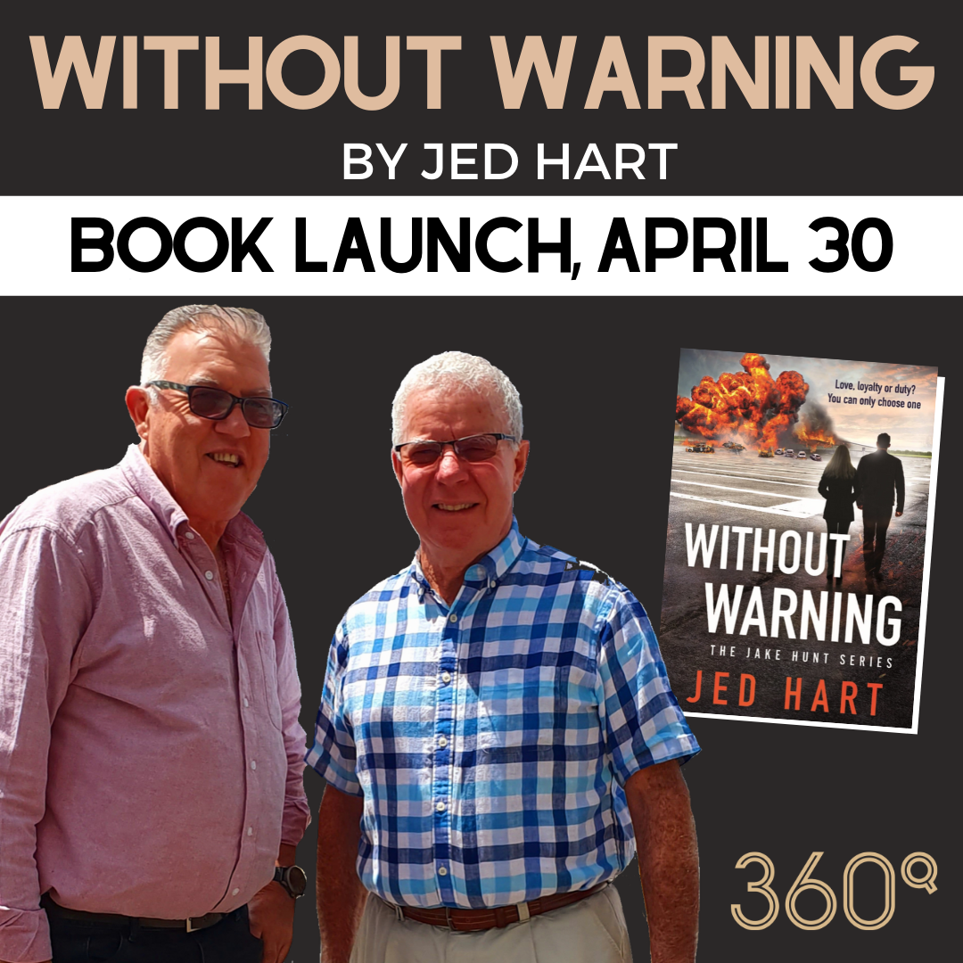 jed hart debut novel without warning wear barry iddles 360Q