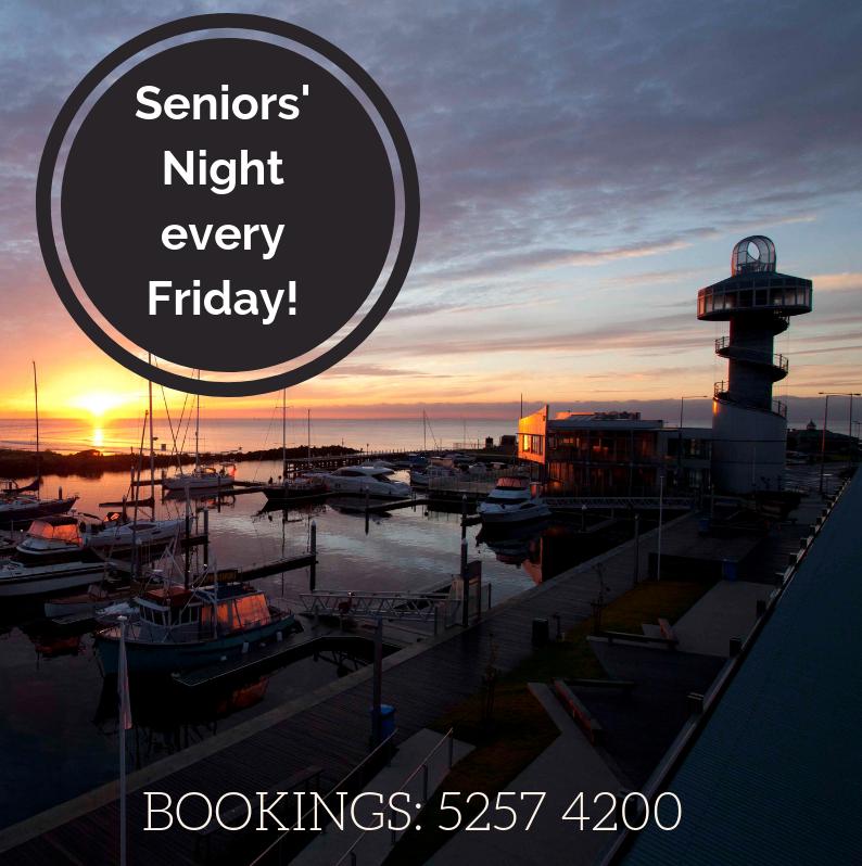 360q queenscliff seniors night friday restaurant