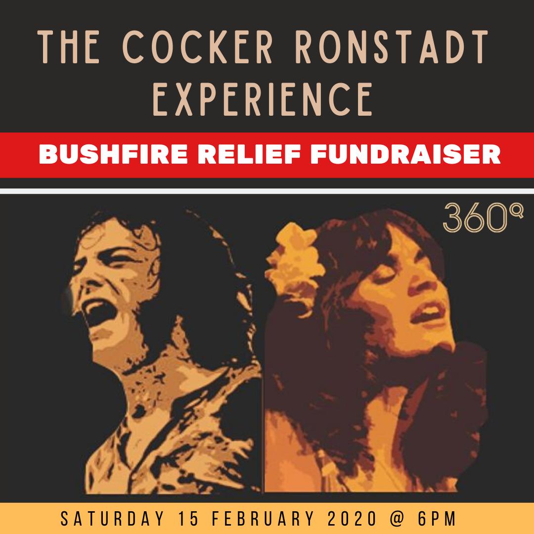 Bushfire releif fundraiser 360Q queenscliff